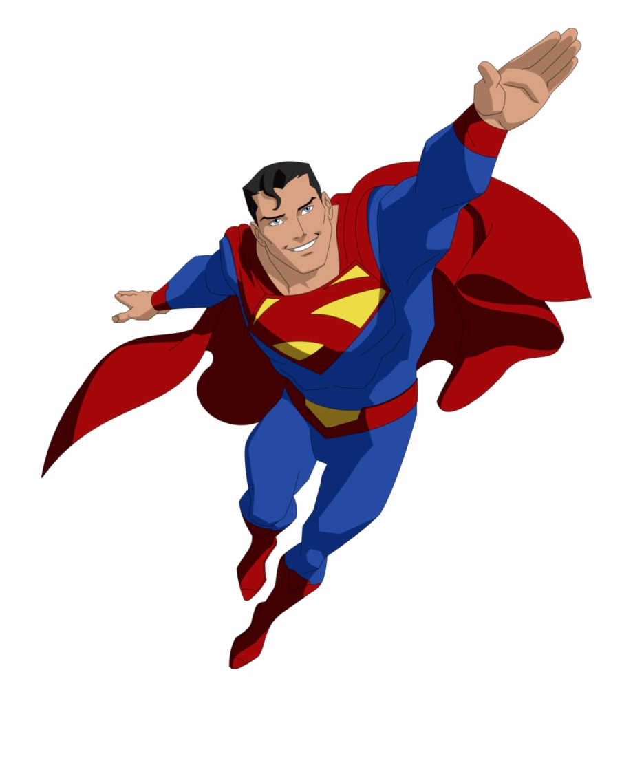 Flying Superman Png.