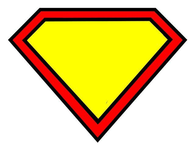 printable superhero logo.