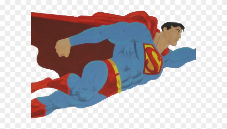 Superman Logo Clipart Flying.