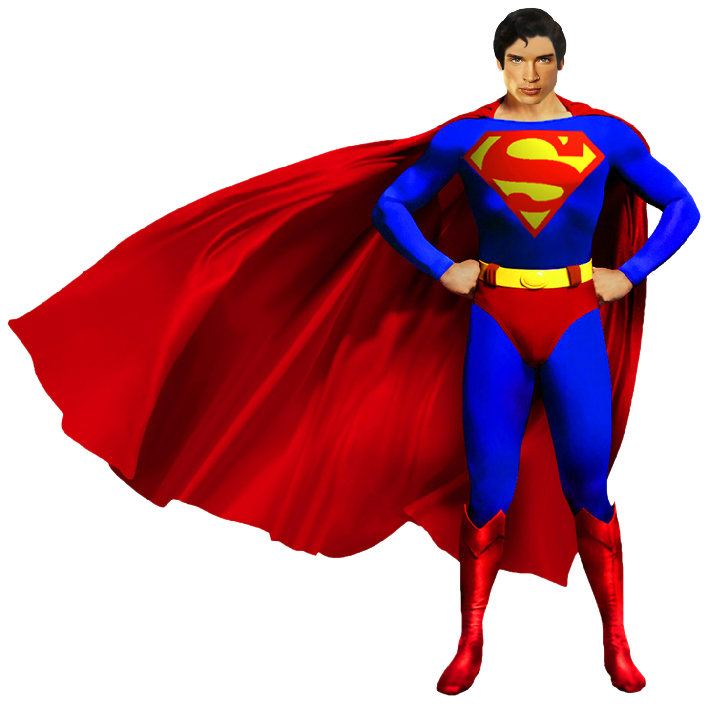 Tom Welling as Superman Imagery.