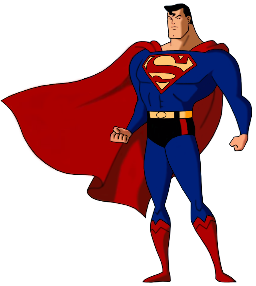 Superman Comic Clip Art.