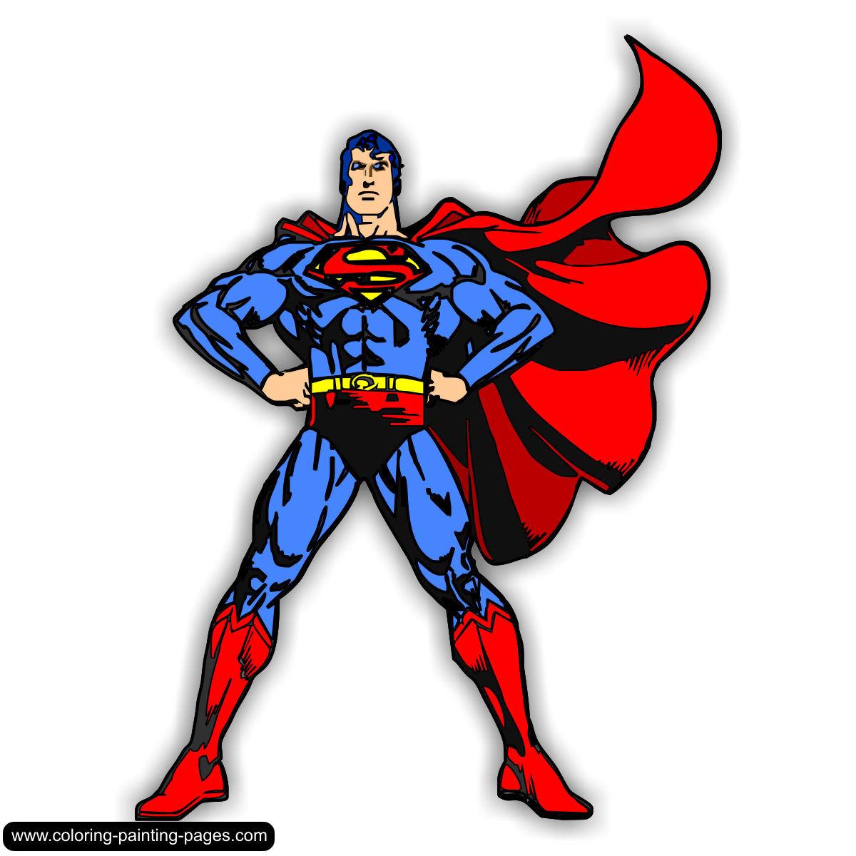 Superman Clip Art Kids.