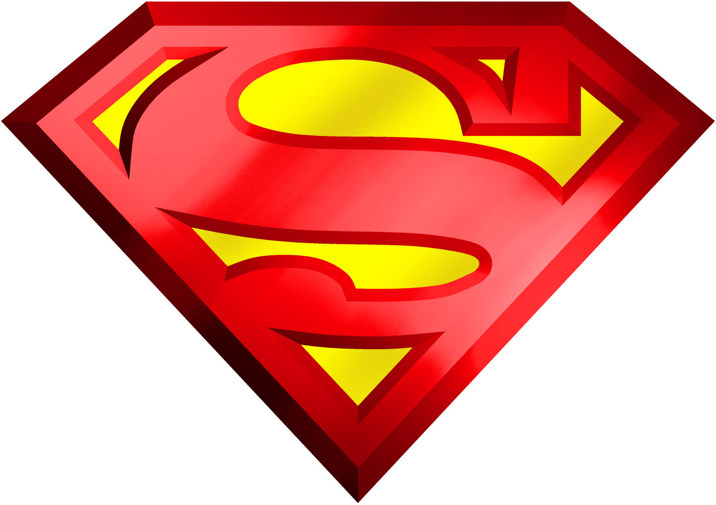 Free Download Of Superman Icon Clipart #19787.