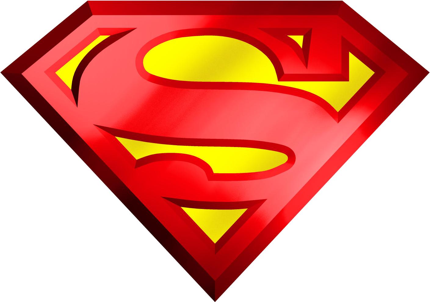Superman Logo PNG Image.