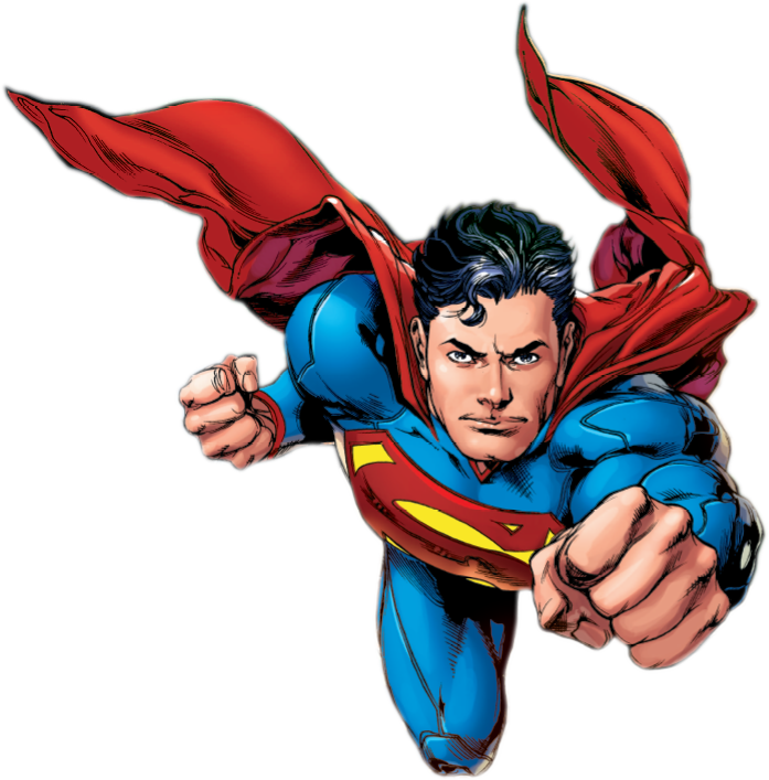Superman PNG Image.