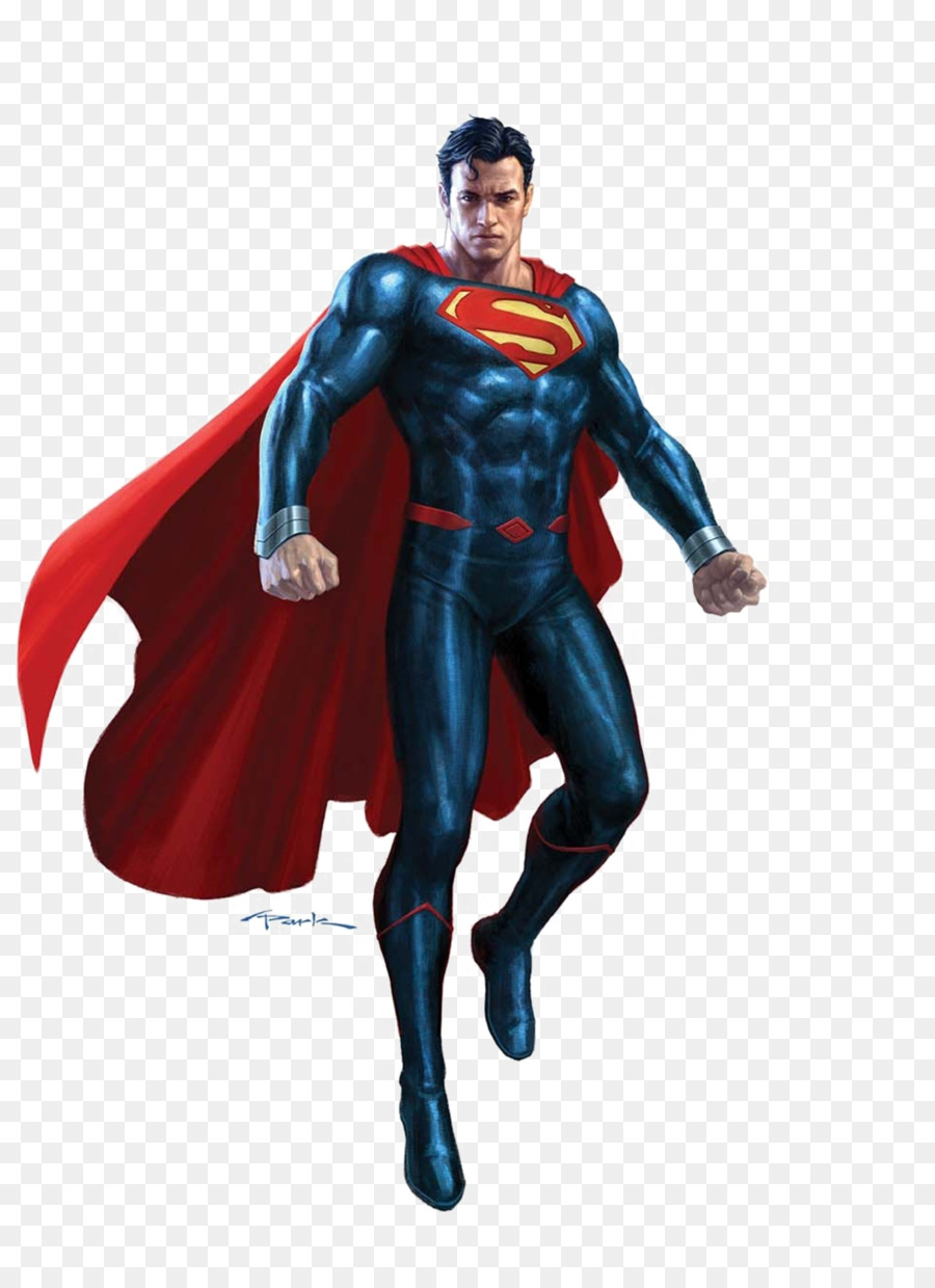 Superman Action Figure png download.
