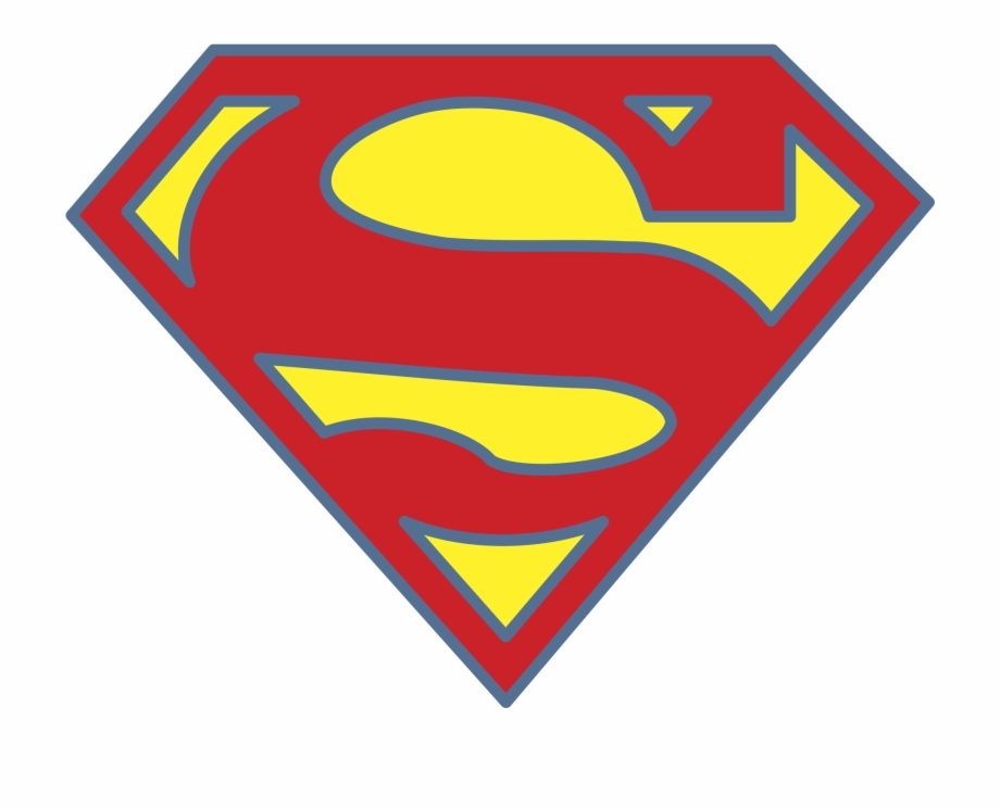 Superman Logo Png Transparent.