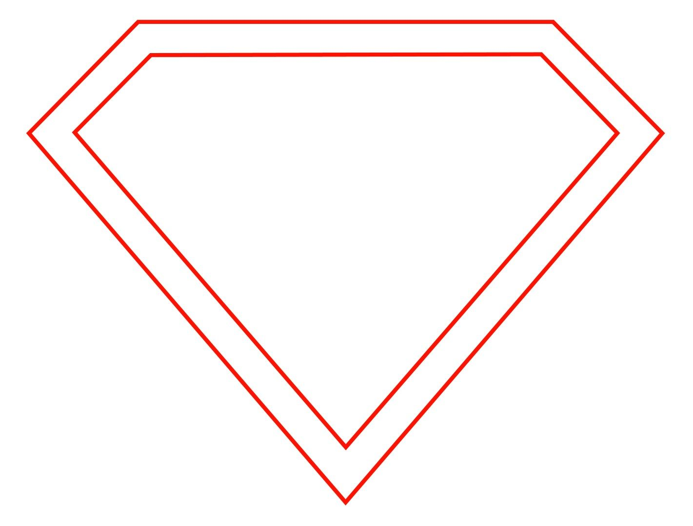 How To Draw The Superman Logo.