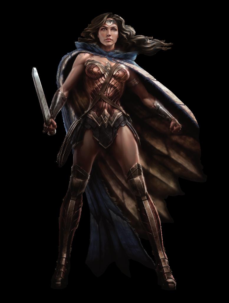 Wonder #Woman #Clip #Art. (Dawn of Justice.