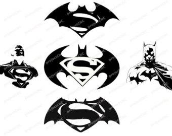 Batman Vs Spiderman Clipart.