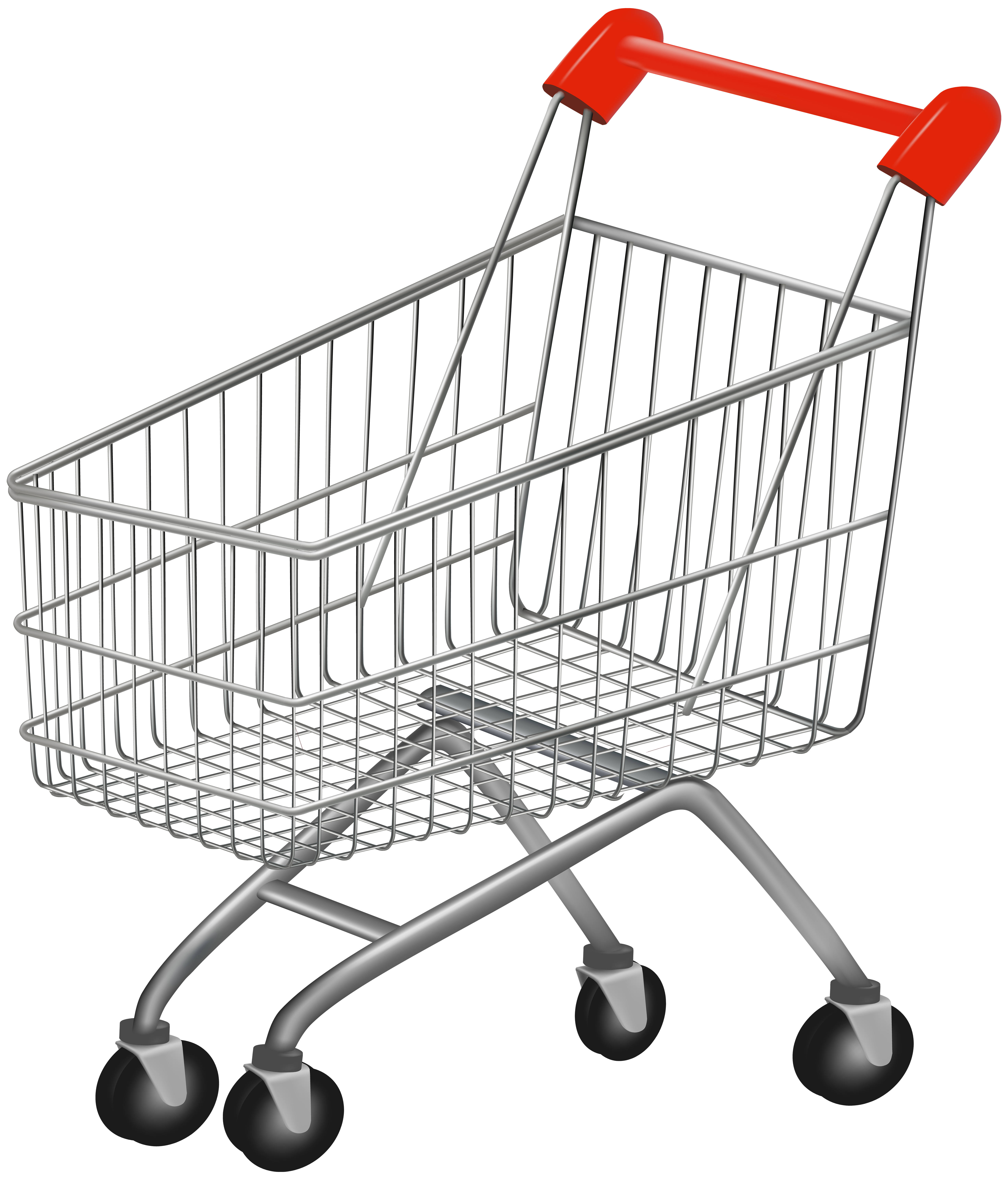 Shopping Cart PNG Clip Art Image.