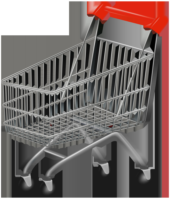 Shopping Cart PNG Clip Art Image.