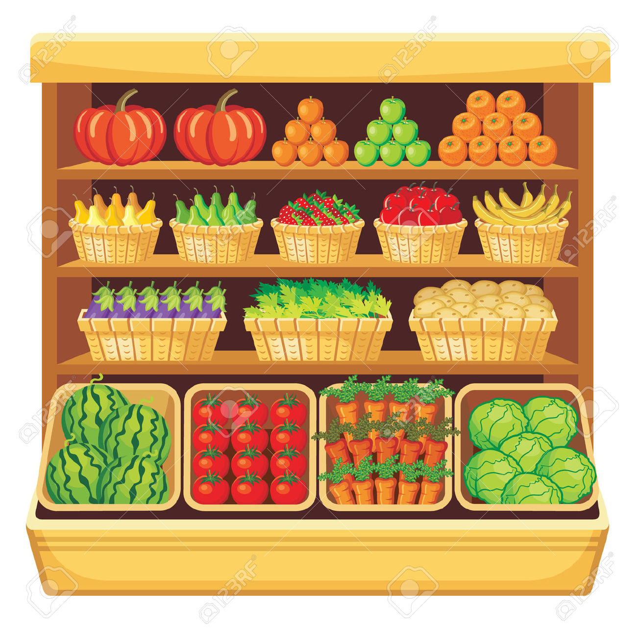 Supermarket Clipart Free.