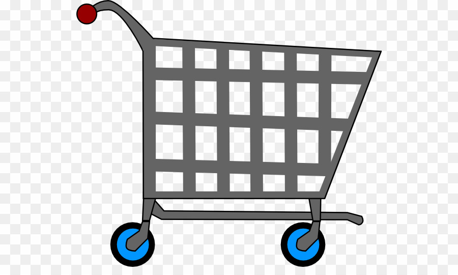 Supermarket Trolley PNG Shopping Cart Grocery Store Clipart.