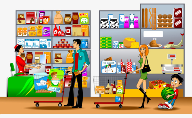 Clipart Supermarket (96+ images in Collection) Page 2.