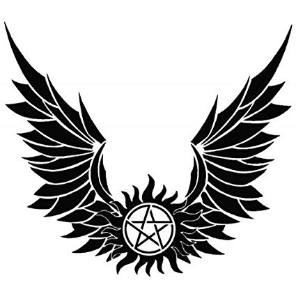 Wing clipart supernatural, Wing supernatural Transparent.