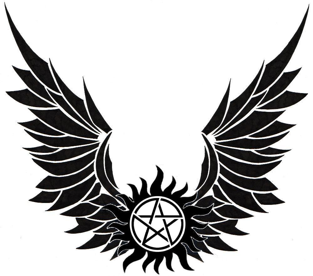 Winged Anti Possession symbol.