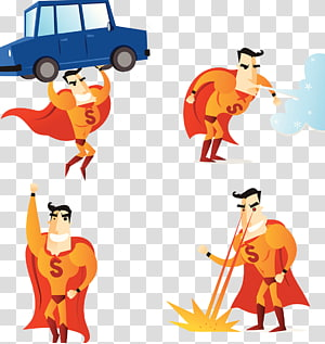 Superpower transparent background PNG cliparts free download.