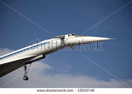 Passenger Supersonic Plane Stock Photos, Royalty.