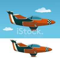 Supersonic Aircraft stock vectors.