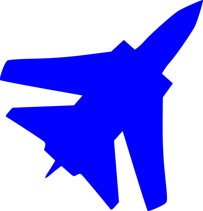 Free vector graphic: Fighter, Jet, Air Force, Silhouette.