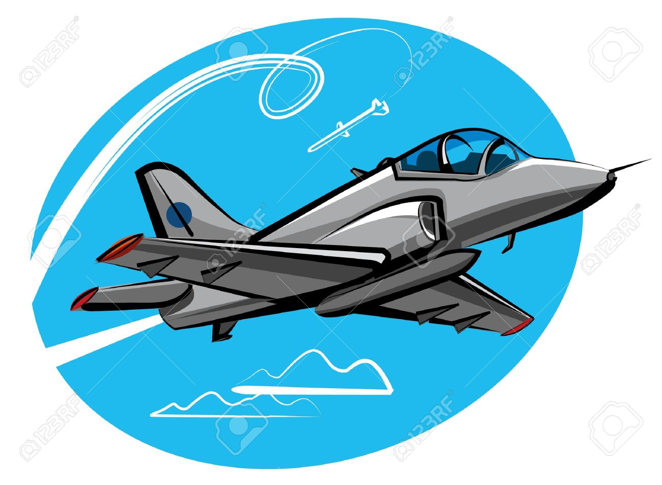 Jet Fighter Royalty Free Cliparts, Vectors, And Stock Illustration.