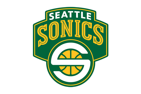 Seattle Sonics logo.