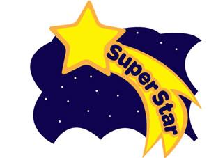 Superstar 20clipart.