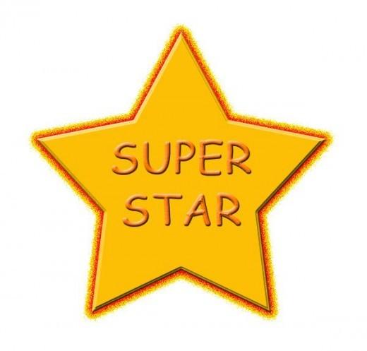Free Superstar Clipart.