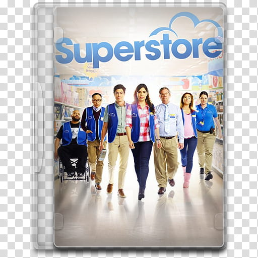 TV Show Icon Mega , Superstore transparent background PNG.