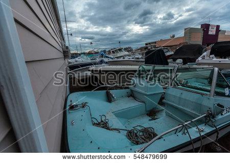 Hurricane Damaged Boat Stock Photos, Royalty.