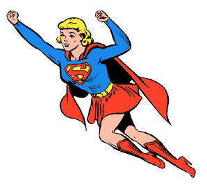 50+ Superwoman Clipart.