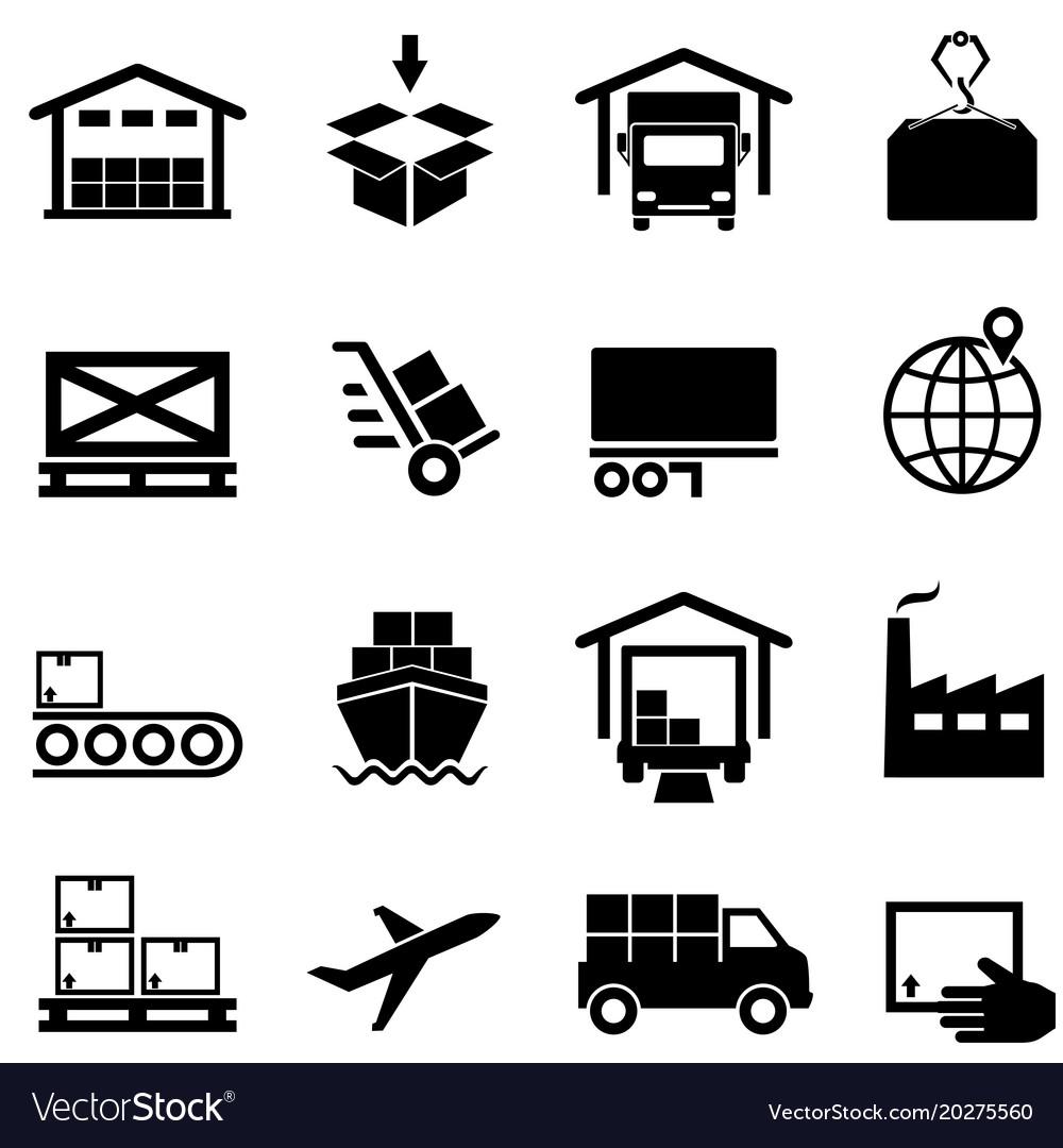 Logistics supply chain distribution warehousing.