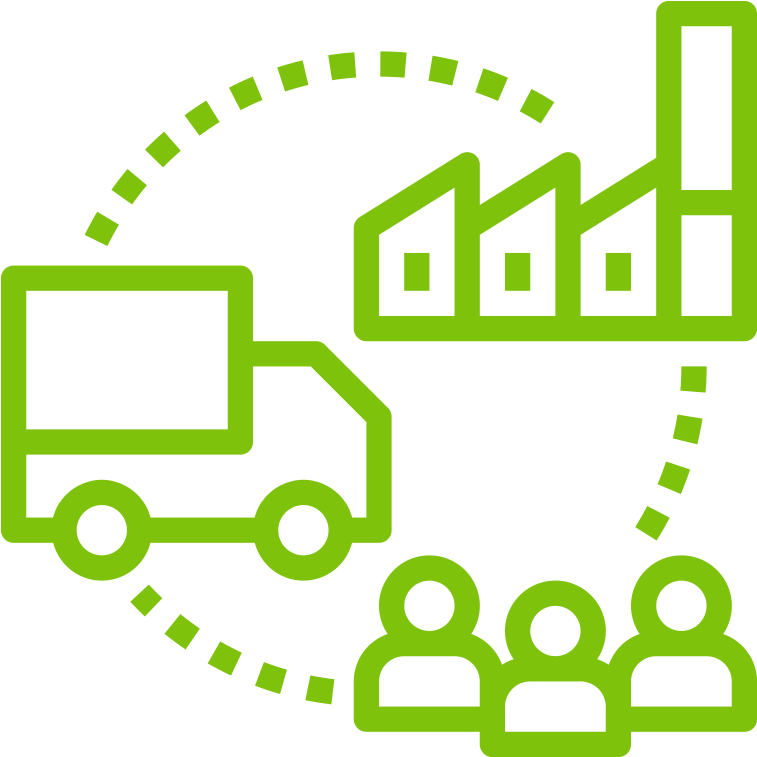Supply Chain Icon Png Clipart.