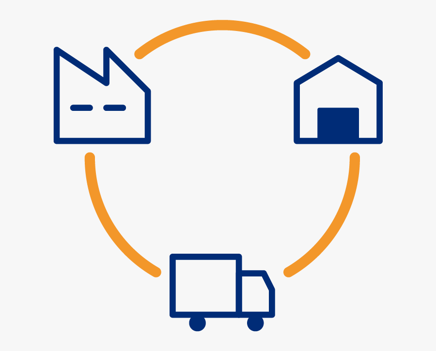 Supply Chain Icon Color , Free Transparent Clipart.