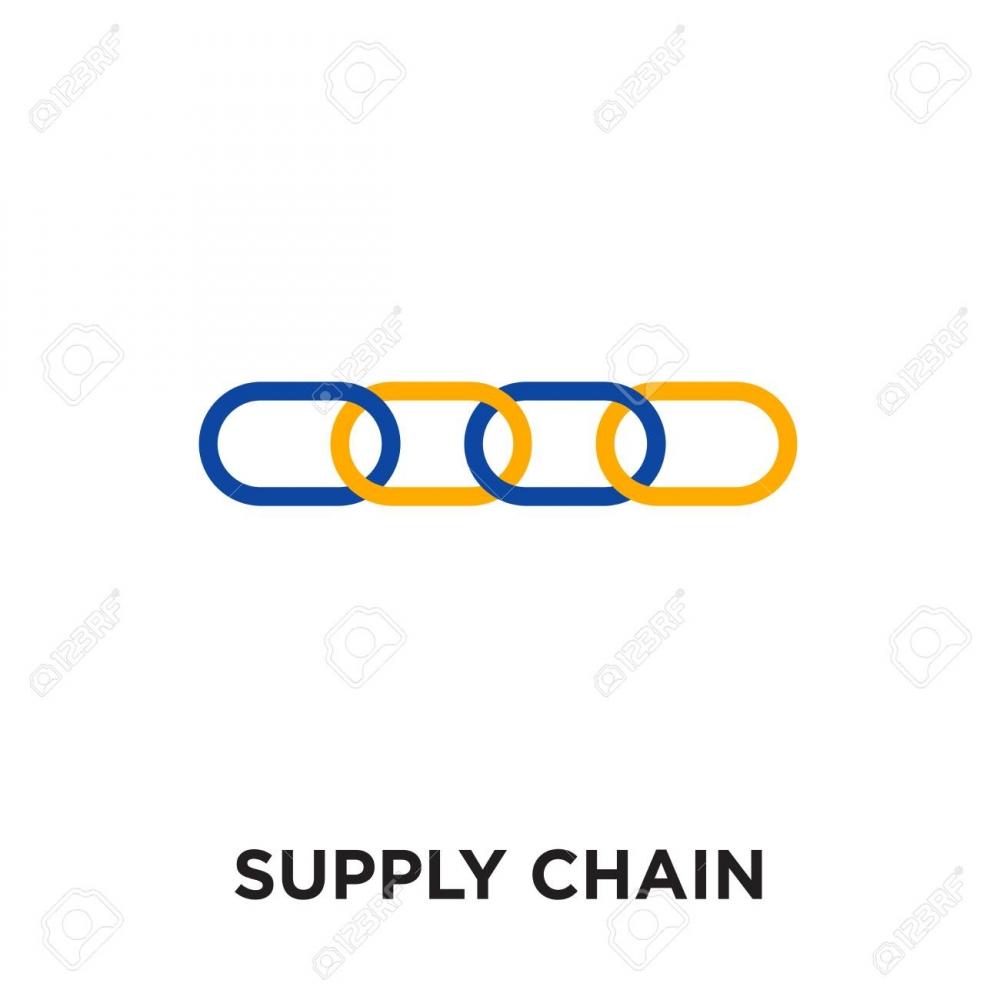 BDS Supply Chain logo design.