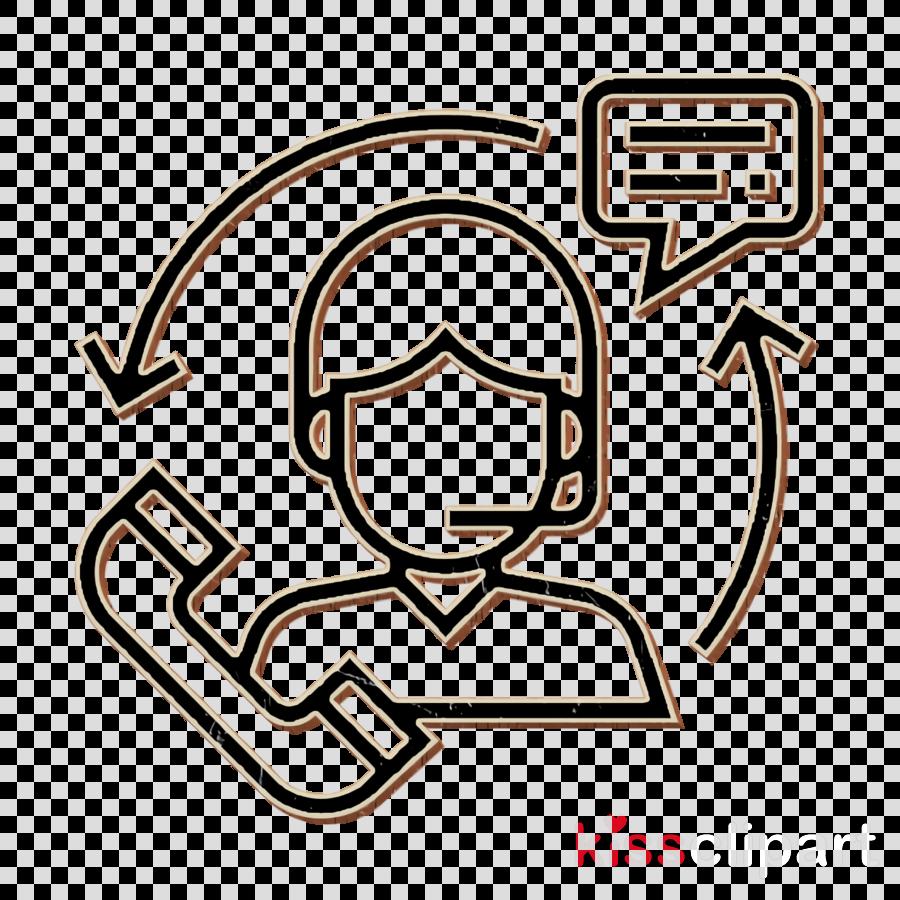 Support icon Customer service icon Black Friday icon clipart.