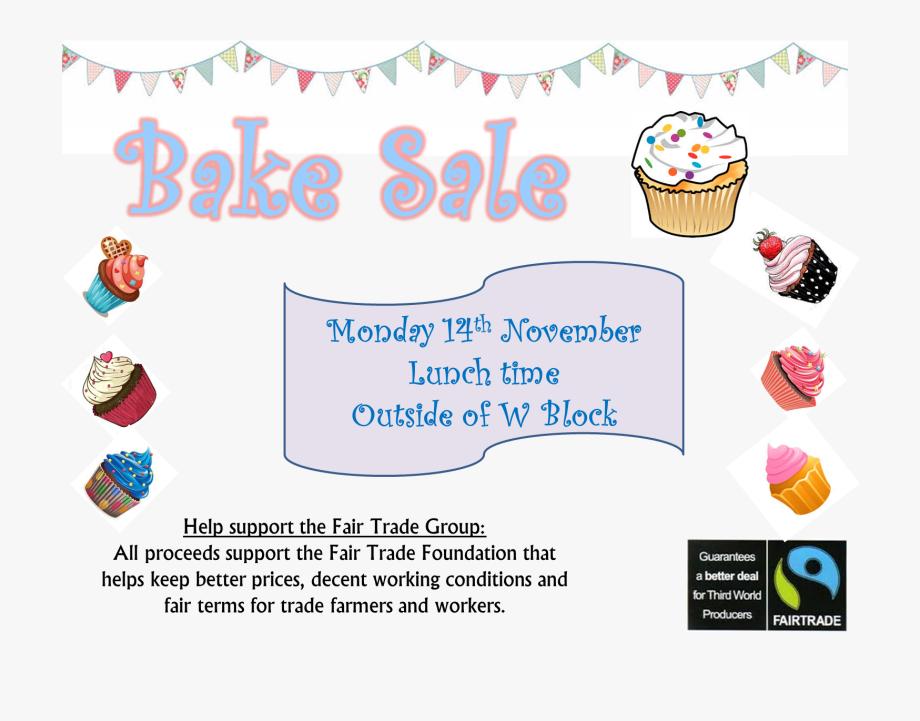 Bake Sale Poster.