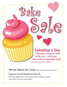17 Best bake sale poster ideas images.