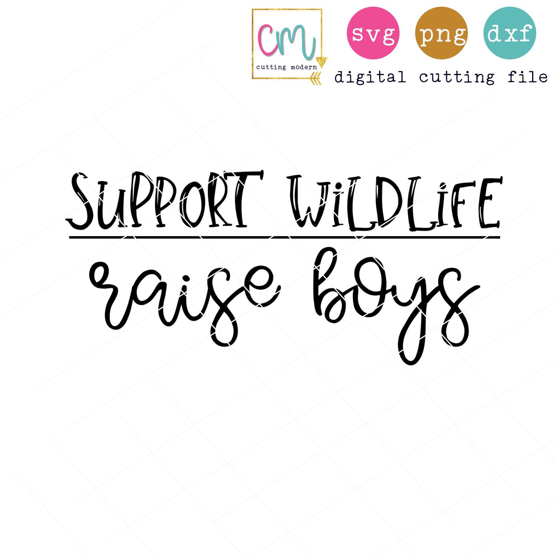 Support Wildlife Raise Boys.