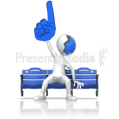 Supporter Clipart.