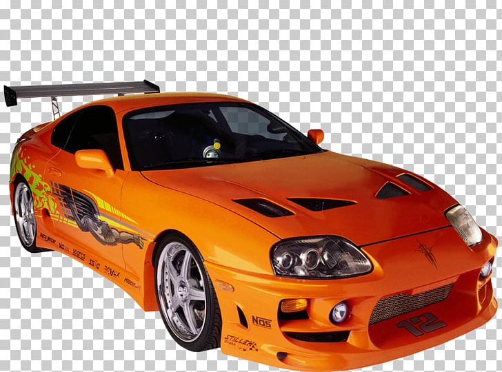 Car Toyota Supra The Fast And The Furious Owen Shaw Action.