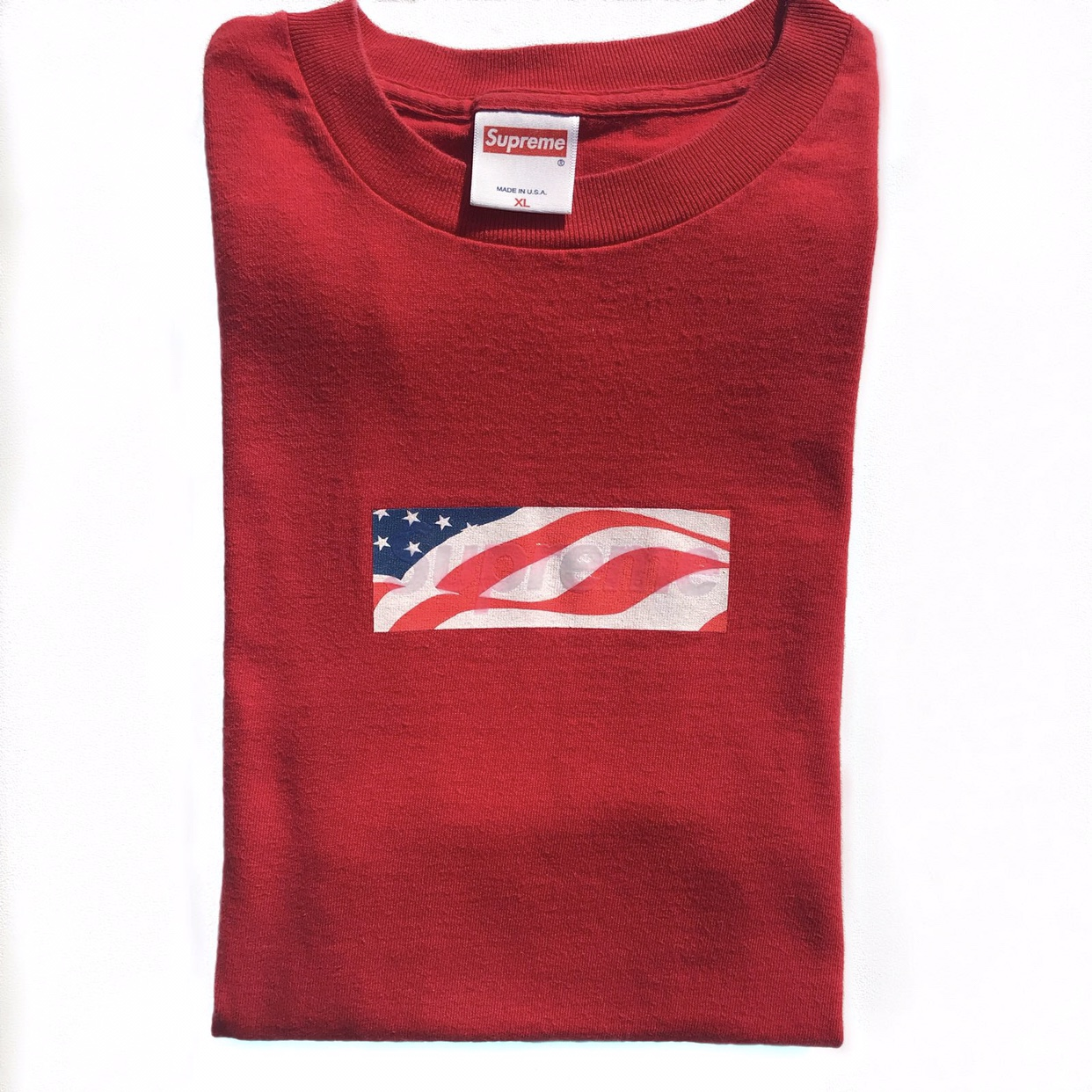 Supreme 9/11 Box Logo tee SS\'01 100% authentic as.