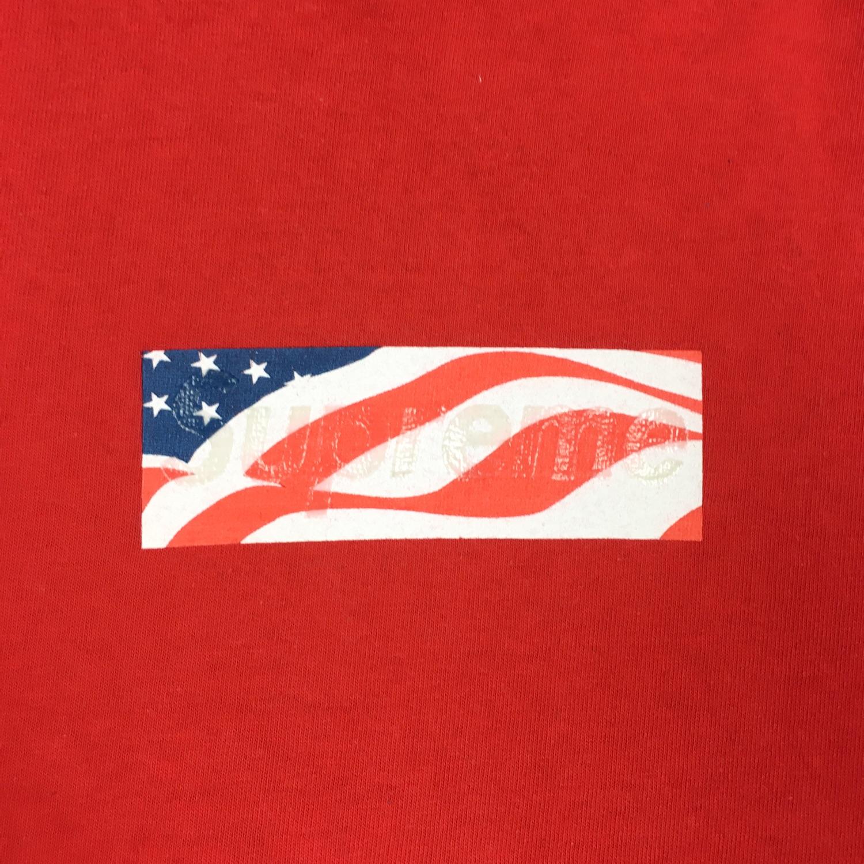 Supreme 9/11 Box Logo Tee.