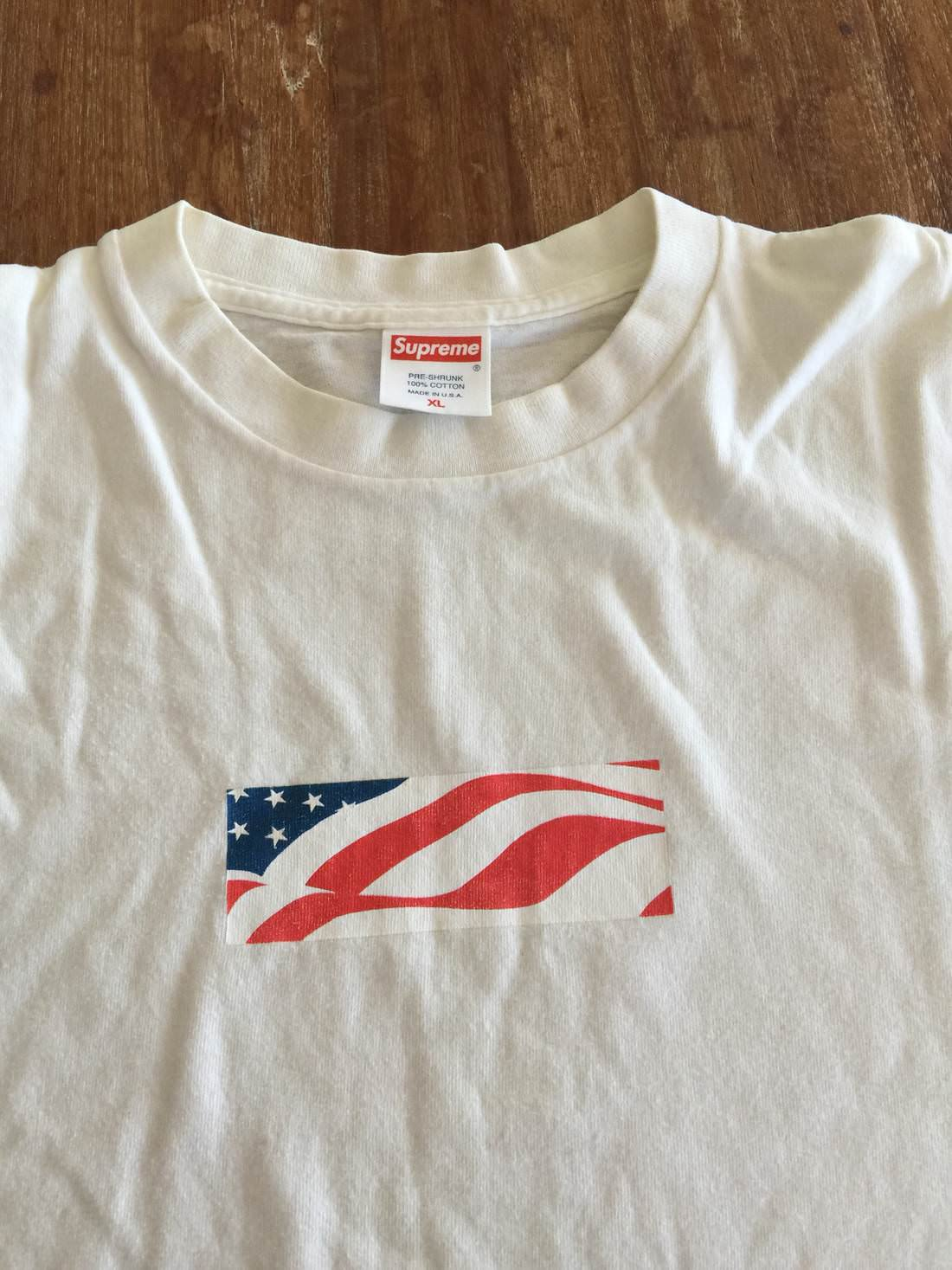 W2C Supreme 9/11 Box Logo Tee : FashionReps.