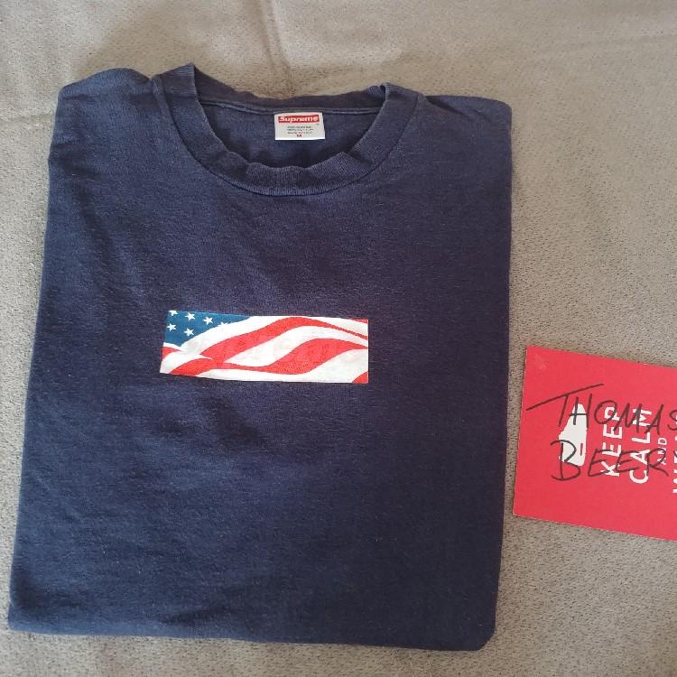Supreme 9/11 Box Logo.