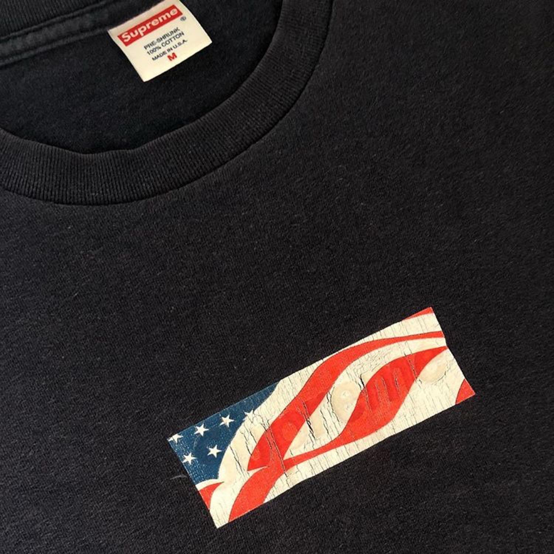 Supreme 9/11 American Flag Box Logo.