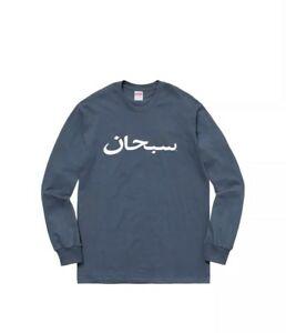 Details about Supreme Arabic Logo Longsleeve T.
