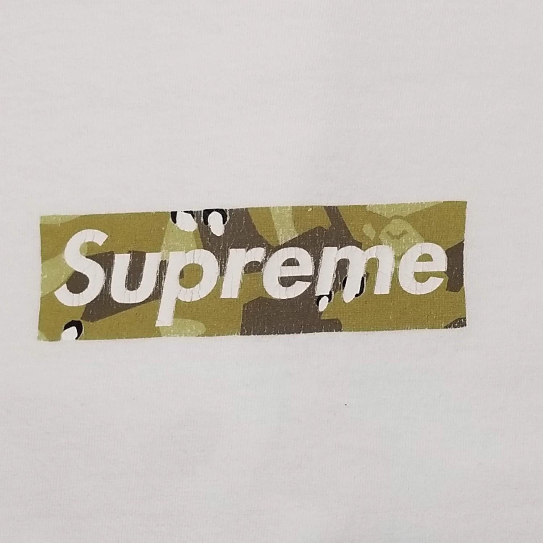 Supreme X Bape Box Logos.