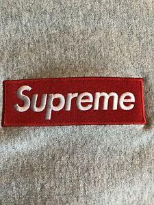 Details about supreme box logo crewneck grey.